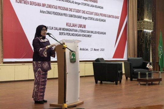 OJK dorong mahasiswa tingkatkan inklusi dan literasi keuangan nasional