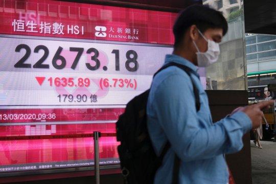 Saham Hong Kong merosot, tertekan teknologi dan ketegangan China-Barat