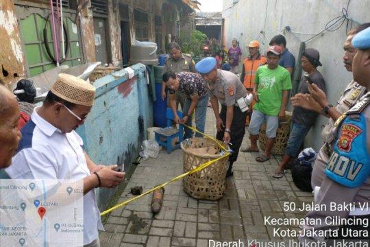 Pemuda temukan mortir di pinggir Kali Cakung Drain, Cilincing