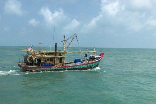 KKP kembali tangkap kapal ikan asing ilegal di Selat Malaka