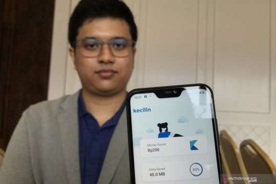 Kecilin, aplikasi penghemat kuota data bagi pengguna Android