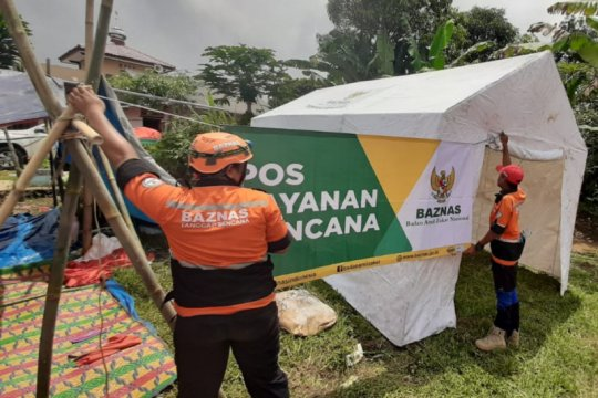 BAZNAS bantu korban gempa Sukabumi