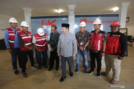 Kepala Bappenas tinjau Proyek Tol Aceh
