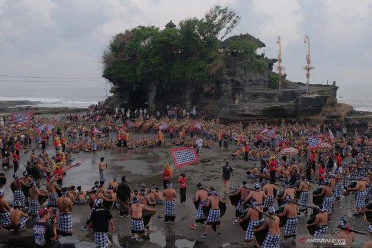 Tanah Lot mulai ditutup hingga 30 Maret, cegah sebaran Corona di Bali