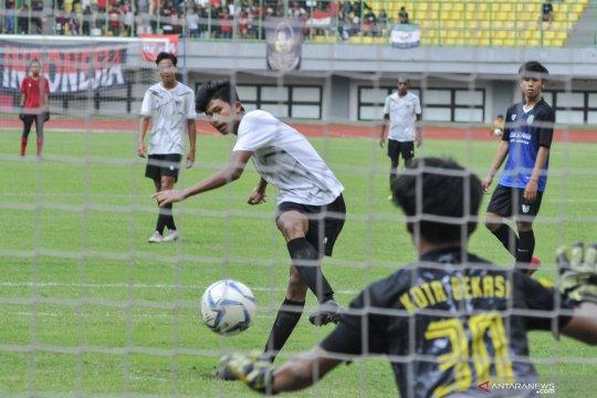 Timnas U-16 uji coba melawan tim  Porda Bekasi U-17