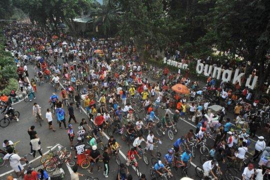 Car Free Day di Surabaya ditiadakan cegah penularan virus corona