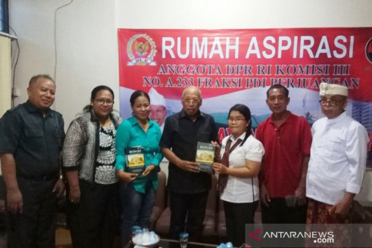 Korban bom Bali minta restitusi datangi rumah aspirasi DPR