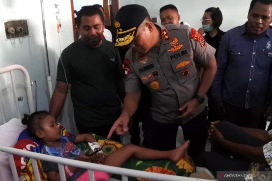 Kapolda NTT prihatin dengan kondisi pasien DBD di Sikka