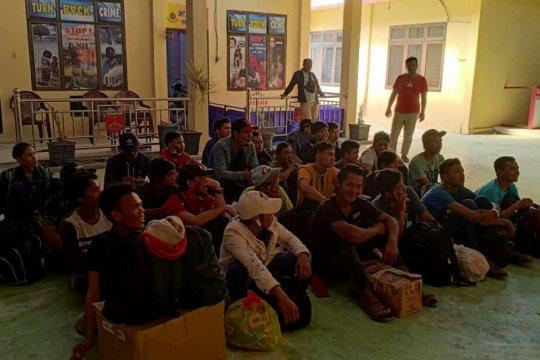 Polres Tanjung Balai tahan 39 TKI ilegal dari Malaysia