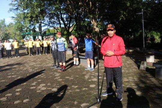 Kapolda Kalbar pimpin kegiatan bersih lingkungan cegah COVID-19