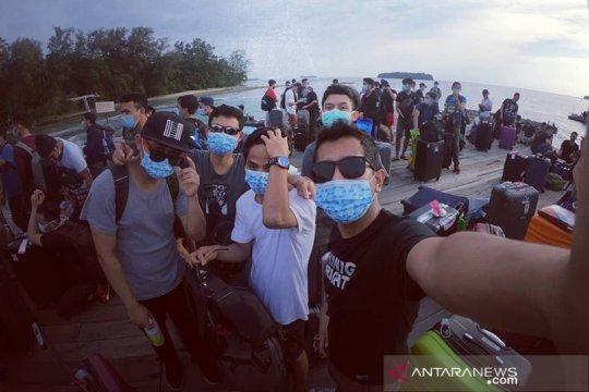 Cerita Arif menikmati observasi COVID-19 di Pulau Sebaru Kecil