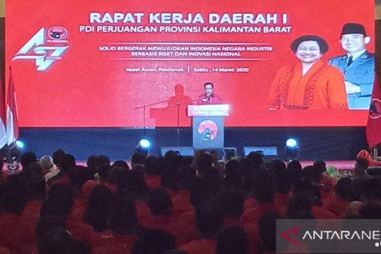 PDI Perjuangan Kalbar panaskan mesin politik lewat Rakerda I
