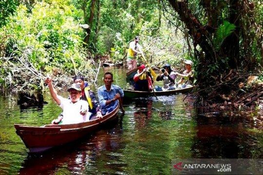 Susur sungai berpotensi menjadi wisata favorit di Barito Timur