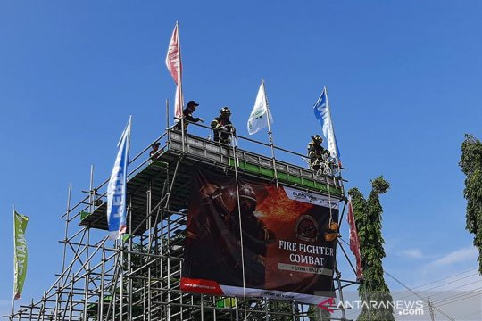Regu Damkar se-Jawa dan Bali beradu ketangkasan di Pertamina Cilacap