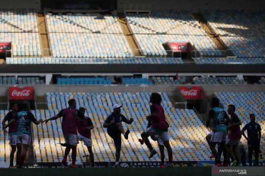 Klub papan atas Brazil tawarkan stadion untuk rumah sakit lapangan