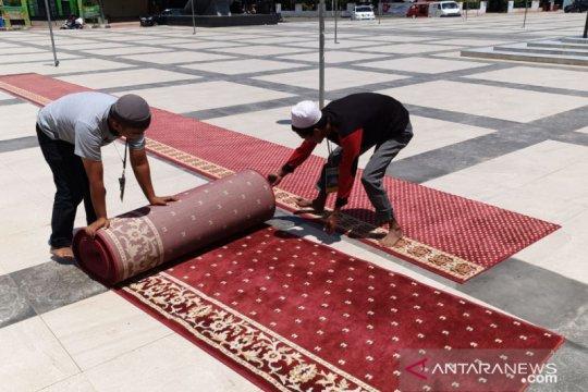 Cegah COVID-19, Masjid Syekh Yusuf Gowa lakukan sterilisasi