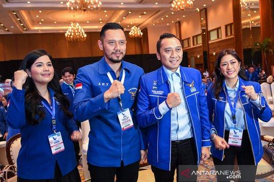 AHY terpilih secara aklamasi sebagai Ketua Umum Partai Demokrat