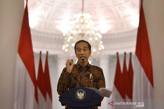 Jokowi dan menteri kabinet jalani tes COVID-19 hari ini