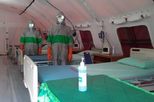 Korem 042/Gapu siagakan tenda untuk isolasi pasien