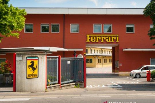 Ferrari tutup pabrik dua pekan, karyawan tetap digaji penuh