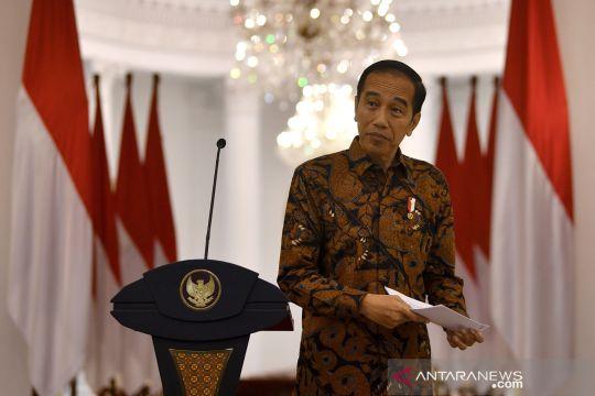 Hoaks, Jokowi berlakukan karantina parsial di 10 wilayah