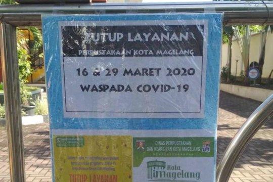 Layanan daring disediakan selama perpustakaan tutup di Magelang