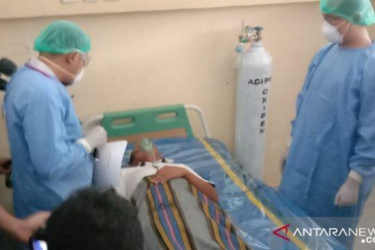 Dua pasien di ruang isolasi RS Anutapura Palu dalam kondisi stabil