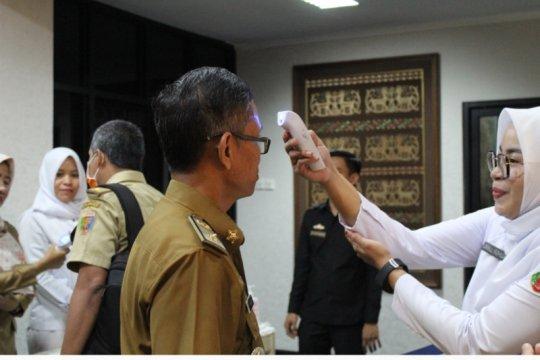 Antisipasi COVID-19, Bandara Raden Inten II lakukan disinfeksi