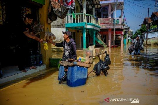 101.644 warga terdampak banjir di Kabupaten Bandung