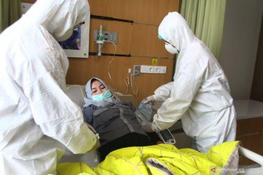 Simulasi penanganan pasien Corona Rs Lavalette Malang