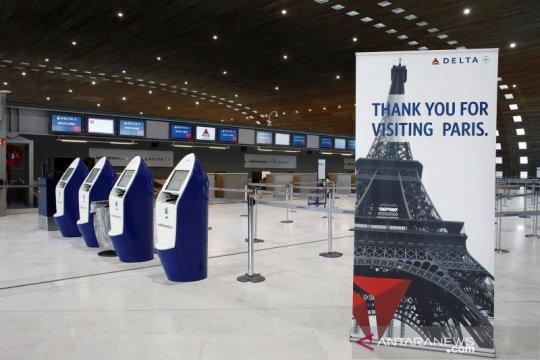 """Prancis kerahkan 100.000 polisi untuk terapkan """"lockdown"""""""