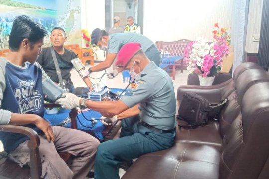 Lanal Saumlaki periksa seluruh personel antisipasi COVID-19