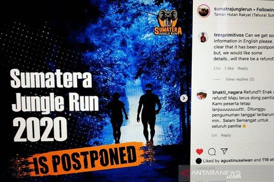 Lomba Sumatera Jungle Run di Riau ditunda akibat wabah COVID-19