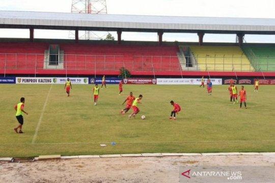 Jadwal pertandingan belum jelas Kalteng Putra fokuskan latihan