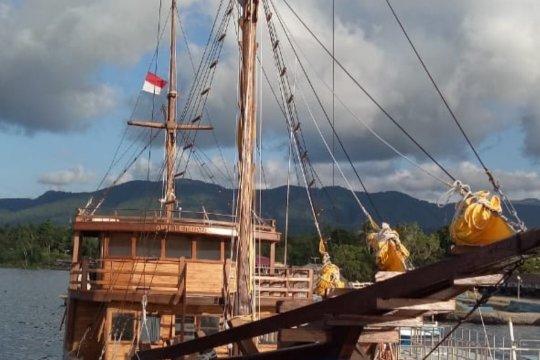 Kemenhub realisasikan bantuan kapal pinisi dukung pariwisata Lembata