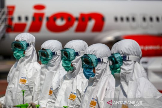 Sterilisasi pesawat Lion Air
