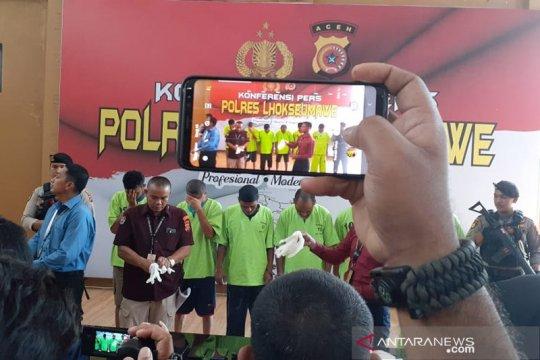 Polisi ungkap jaringan narkoba internasional dikendalikan dari lapas