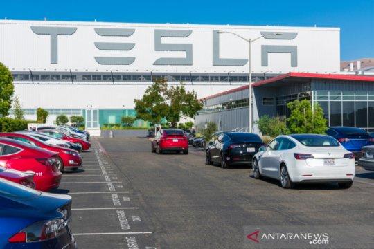 Tesla minta pegawainya kembali bekerja di pabrik minggu depan