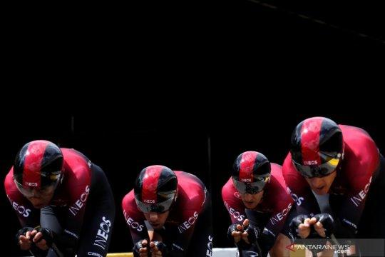 """Pandemi COVID-19 paksa pebalap sepeda profesional Eropa """"menganggur"""""""