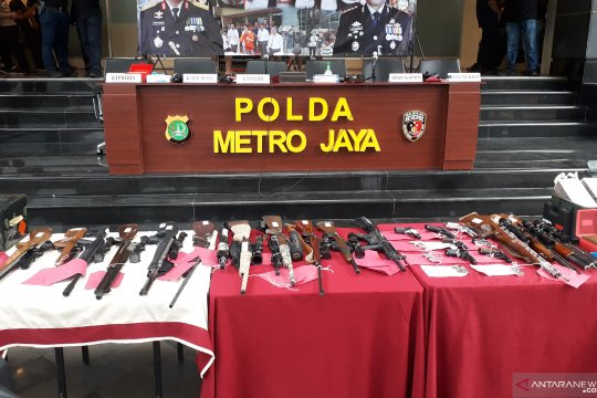 Ombudsman minta polisi usut tuntas jaringan senjata api ilegal