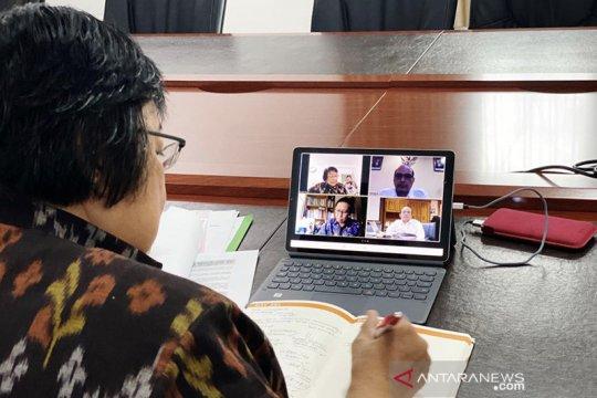 Bekerja dari rumah, Menteri LHK komunikasi dengan Presiden COP26