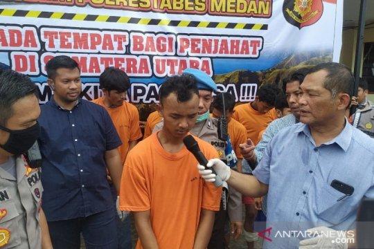Polisi ungkap identitas pembunuh driver ojol di Deli Serdang