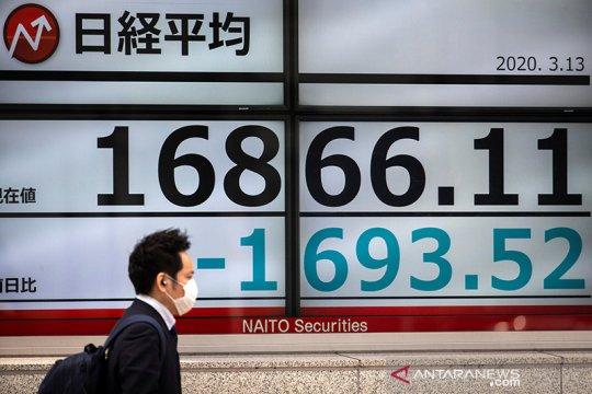 Saham Tokyo ditutup jatuh, dipicu kekhawatiran naiknya kasus COVID-19