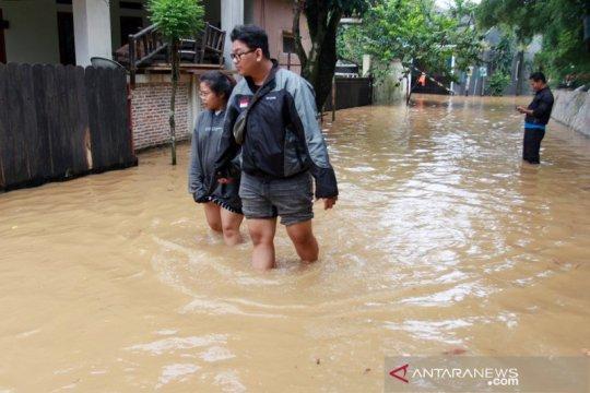Sejumlah wilayah Depok terendam banjir