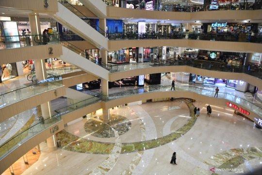Penurunan pengunjung di pusat perbelanjaan di Surabaya