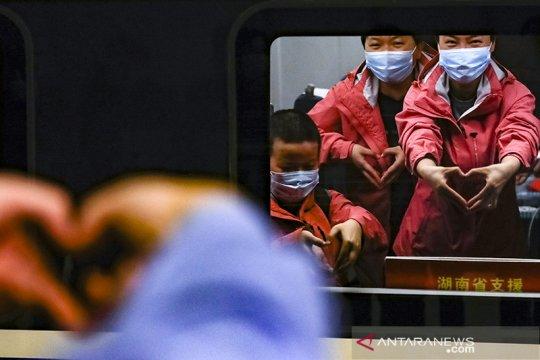Kasus penularan lokal di China nihil, WNA dilarang masuk
