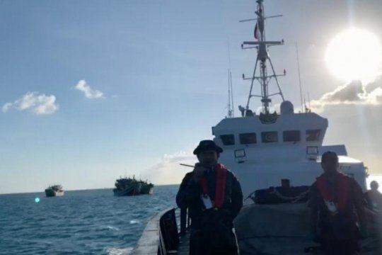 Di tengah pandemi, KKP tetap kawal keamanan nelayan di Laut Natuna