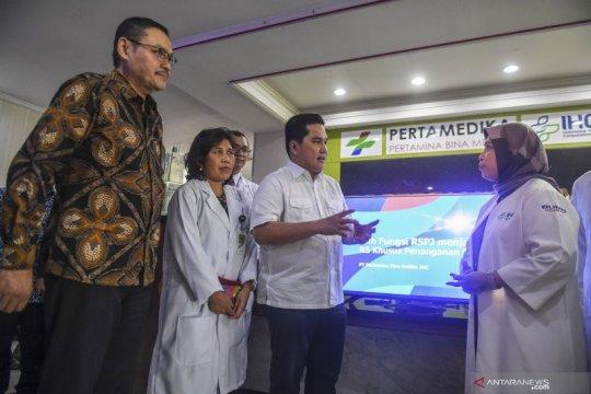 Pertamina siapkan rumah sakit darurat dan rujukan COVID-19
