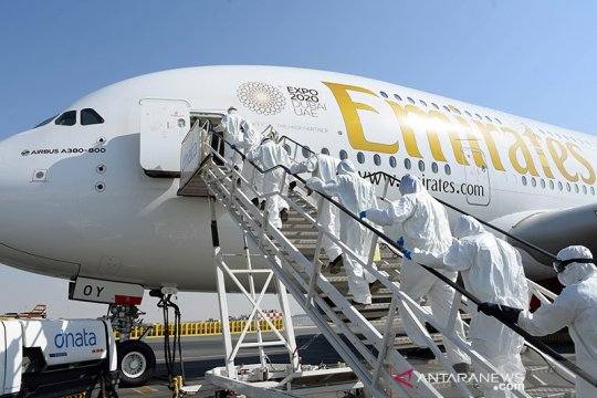 UAE salurkan 33 ton bantuan ke Italia, Kazahkstan, Kolombia