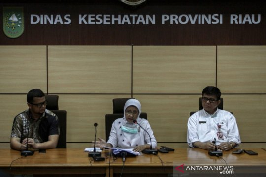 Dibawa ikut takziah, bayi di Riau tertular COVID-19